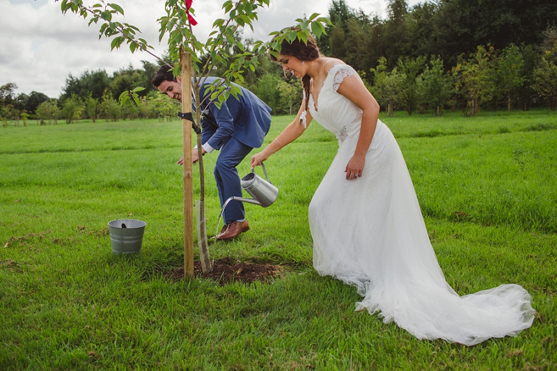 Tree Planting at your wedding