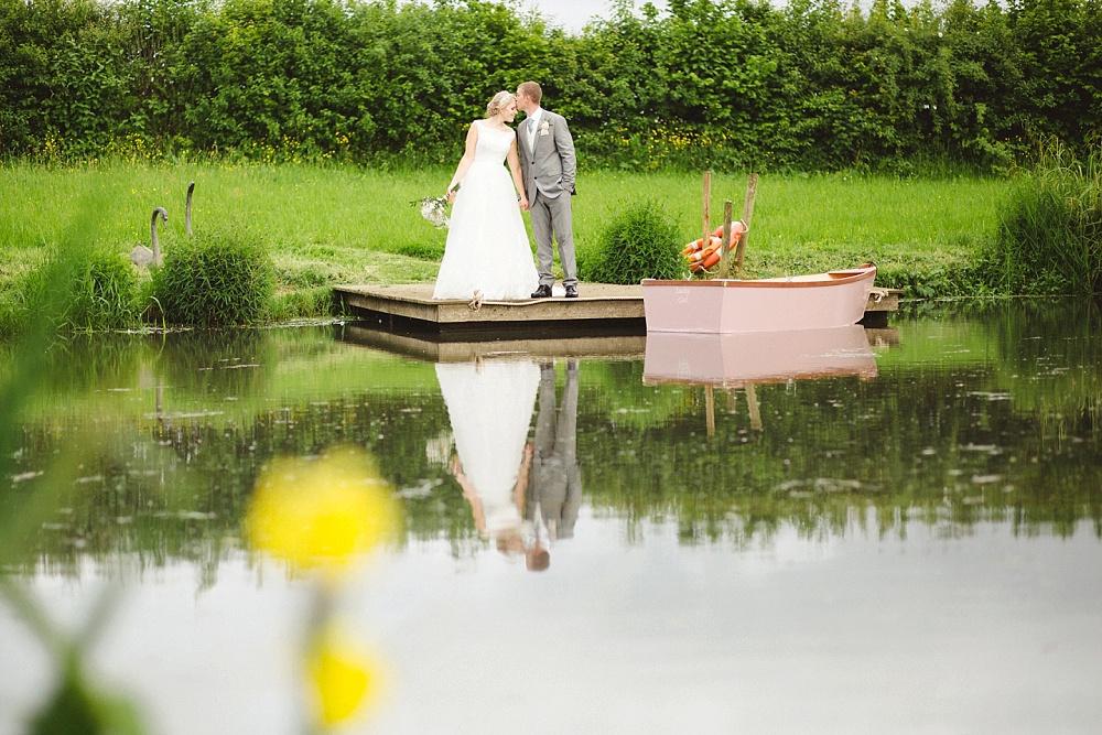 Grittenham Barn Wedding